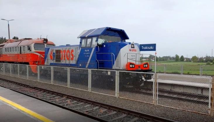 Lotos Kolej rozpoczął współpracę z litewskim LTG Cargo