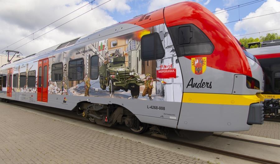 Generał Anders patronem pociągu ŁKA