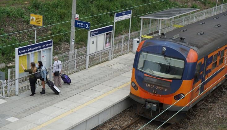 Jest przetarg na budowę kolejowej łącznicy w Kalwarii Zebrzydowskiej
