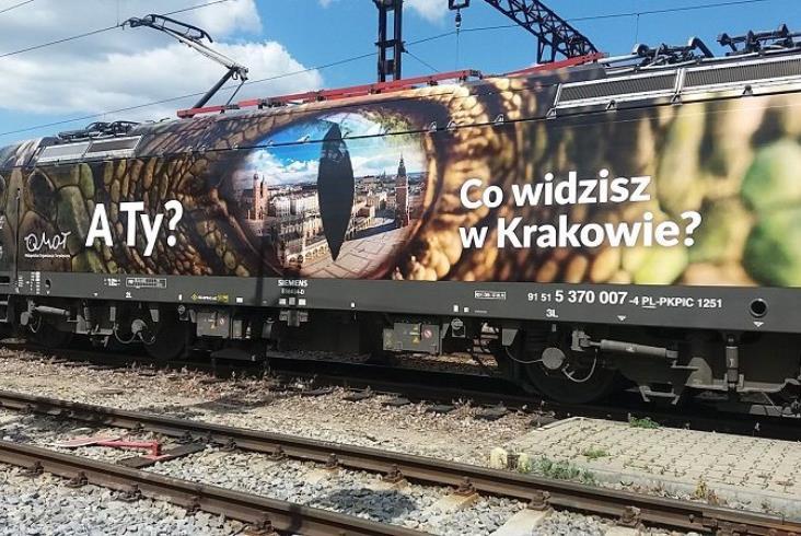 Lokomotywy PKP Intercity będą promować Kraków [nowe zdjęcia]