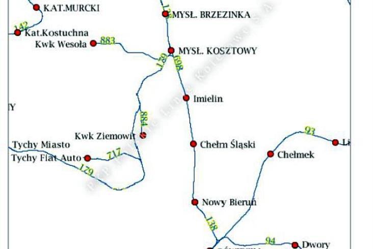 Ruszył przetarg na studium linii 138 Mysłowice – Oświęcim