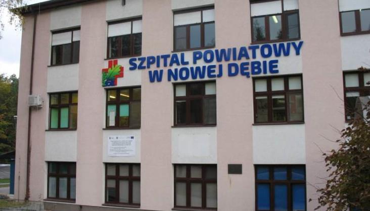 Wsparcie kolejarzy dla szpitala w Nowej Dębie