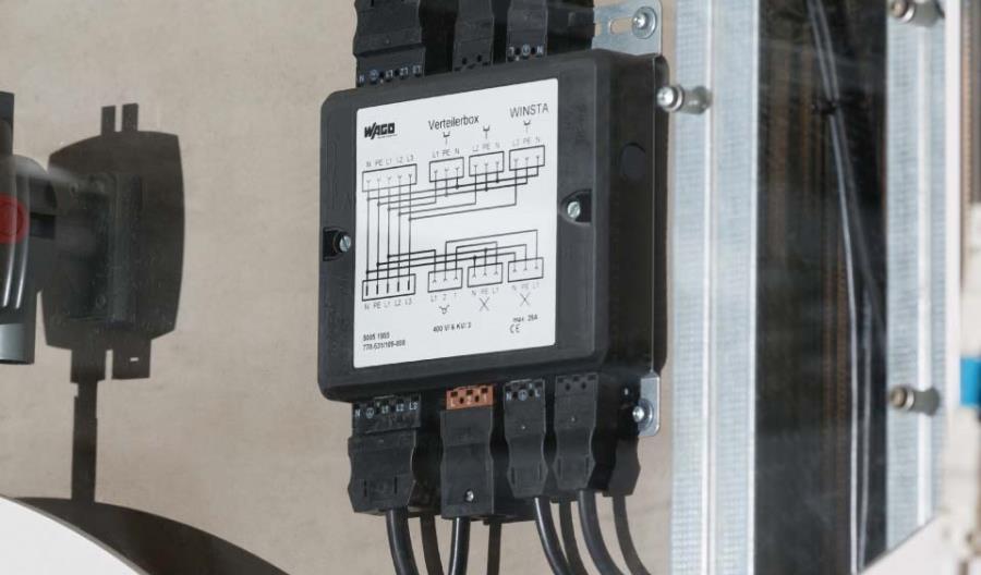 Kompletny system połączeń i dystrybucji instalacji elektrycznych w pojazdach szynowych