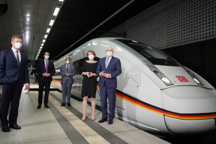 Specjalne malowanie pociągów z okazji 30-lecia ICE [zdjęcia]