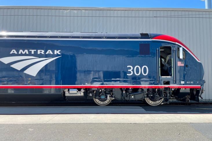 Siemens: Amtrak odebrał pierwszą lokomotywę ALC-42 Charger
