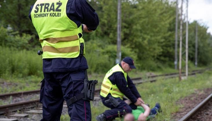 SOK ujęła złodzieja kabla telekomunikacyjnego na szlaku Szczecin Zdroje – Regalica