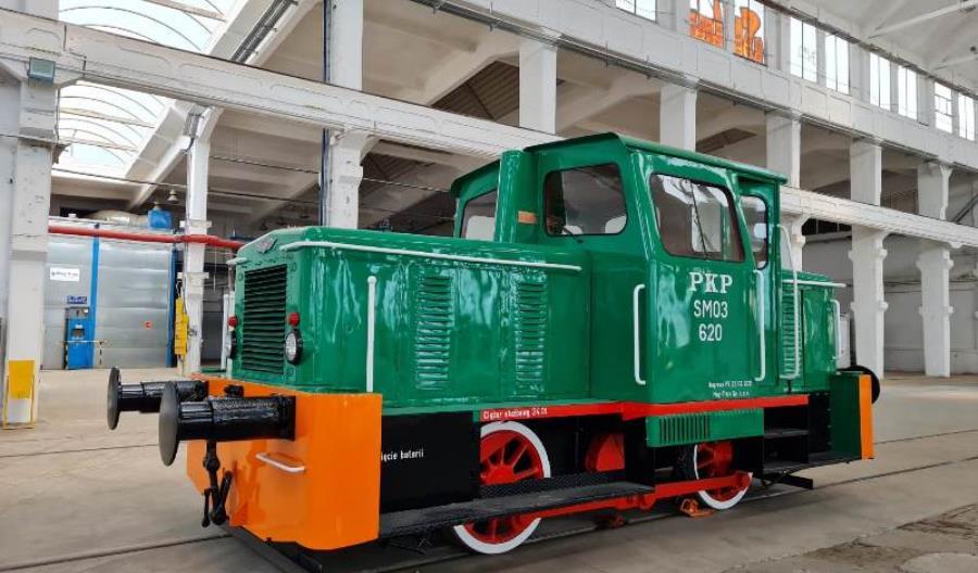 Do Chrzanowa wróciła odrestaurowana lokomotywa SM03 [zdjęcia]