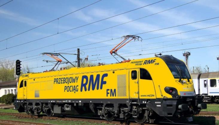 Griffin w żółtych barwach RMF FM. Przebojowy Pociąg ruszy z Rzeszowa do Gdyni