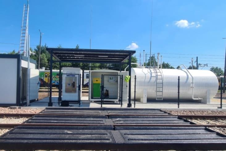 Koleje Mazowieckie z nową stacją paliw