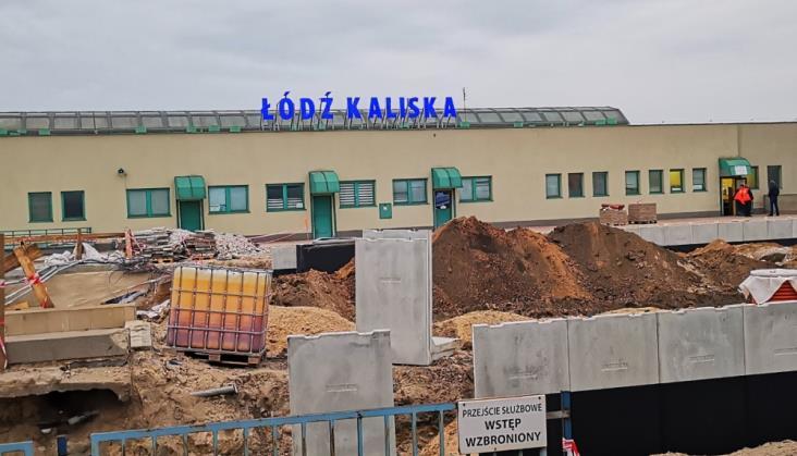 Łódź Kaliska: Od piątku spore utrudnienia w związku z modernizacją stacji