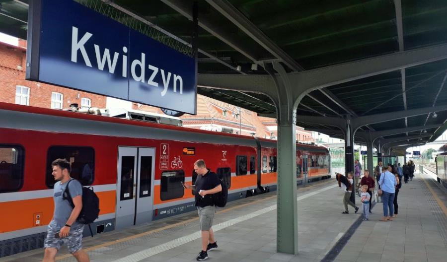 W końcu udało się otworzyć linię 207 Malbork – Kwidzyn