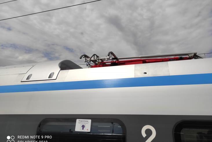 Pendolino uszkodzone w Ozimku wróciło do ruchu [zdjęcia]