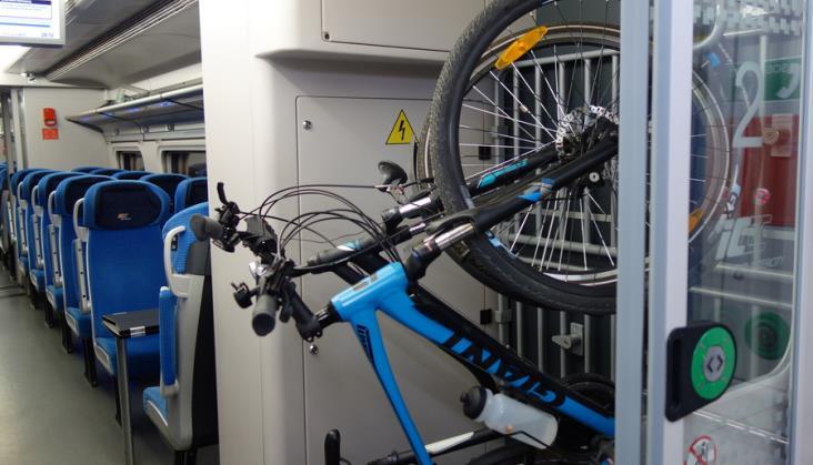 Europejski ranking przewozu rowerów w pociągach. PKP Intercity w środku stawki