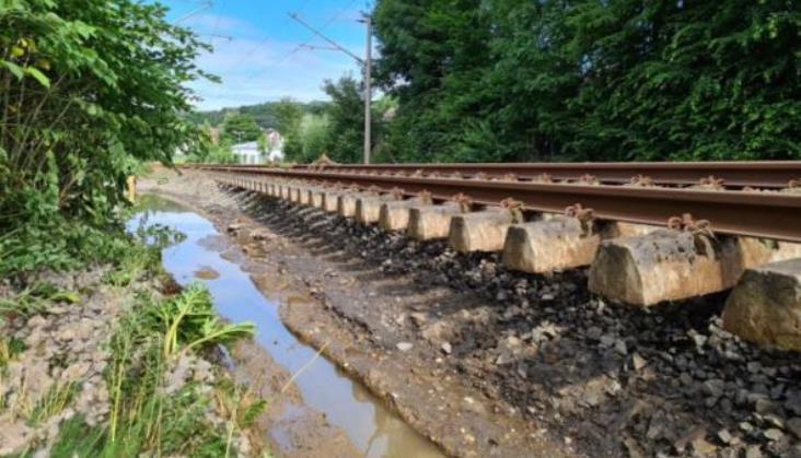 Deutsche Bahn szacują straty po powodziach na 1,3 mld euro