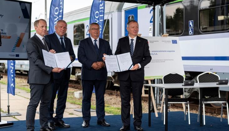 Jest umowa na przebudowę krakowskiej stacji postojowej PKP Intercity
