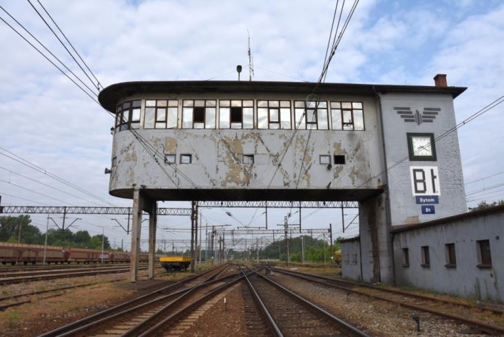 Nastawnia w Bytomiu wpisana na listę zabytków