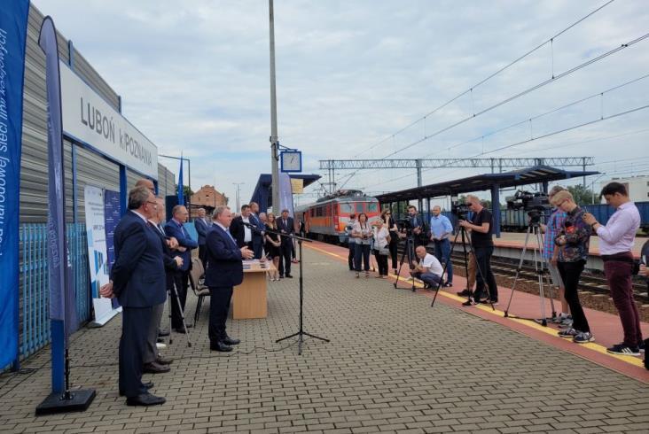 Jest umowa na rewitalizację linii do Wolsztyna