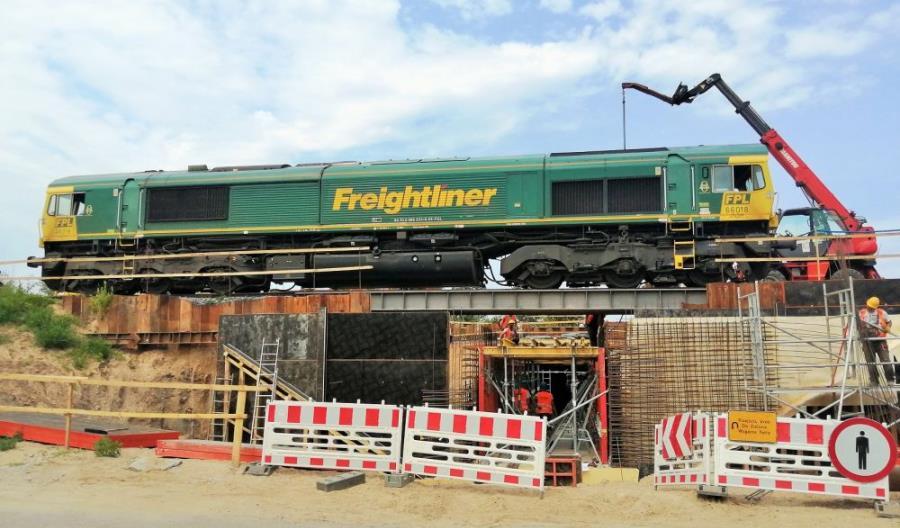 PLK budują nowy przystanek kolejowy w Białymstoku [zdjęcia]
