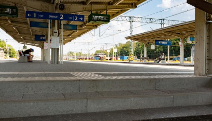 PLK przywróciła ruch na linii do Rybnika po 12 dniach
