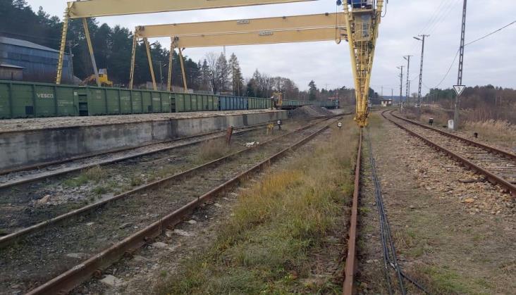 PKP Polskie Linie Kolejowe wyremontują stację Werchrata przy granicy z Ukrainą