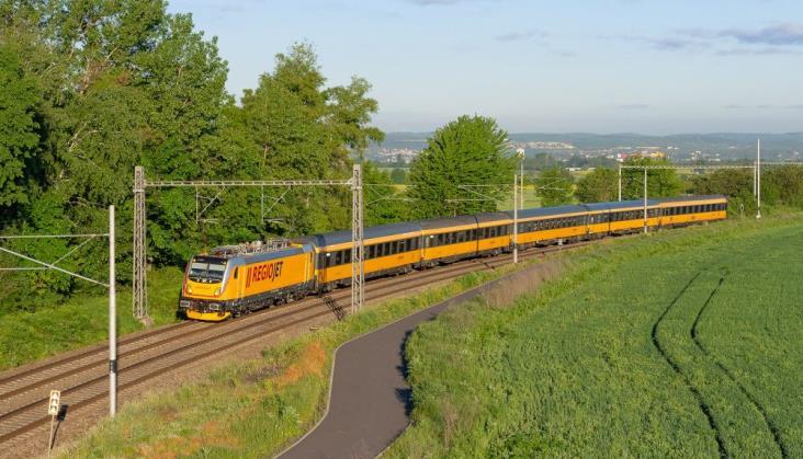 Regiojet chce jeździć na trasie Kraków – Warszawa – Gdańsk