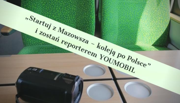 Koleje Mazowieckie mają konkurs dla młodzieży. Do wygrania bilety sieciowe