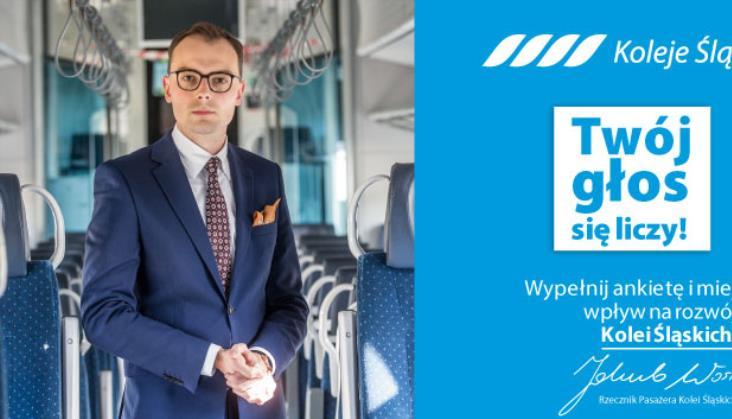 Koleje Śląskie zapraszają do udziału w badaniu satysfakcji pasażera
