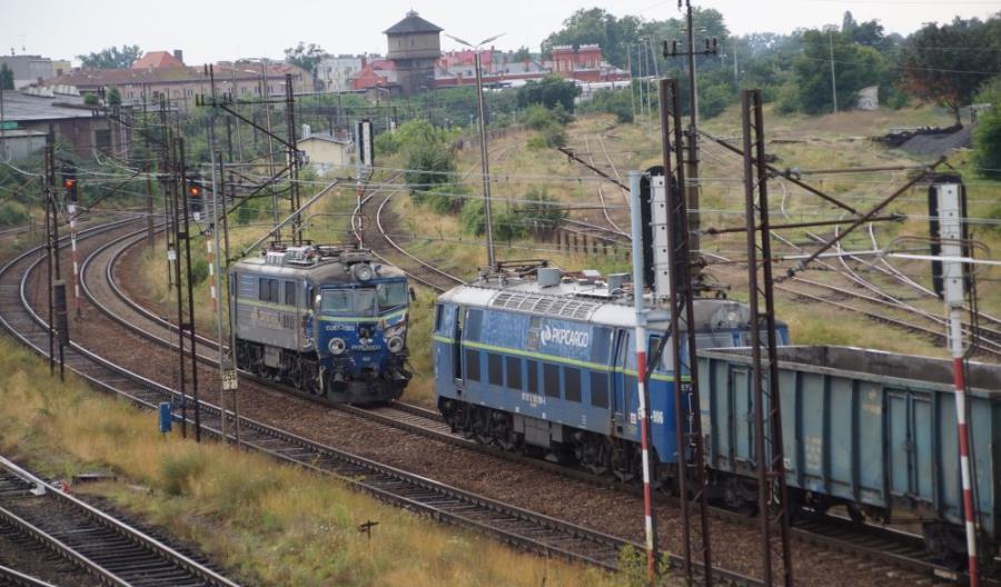 Zderzenie lokomotyw w Kostrzynie [zdjęcia]