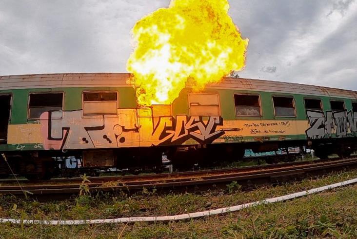 Bomba w pociągu. Wspólne ćwiczenia pirotechniczne ABW i PKP