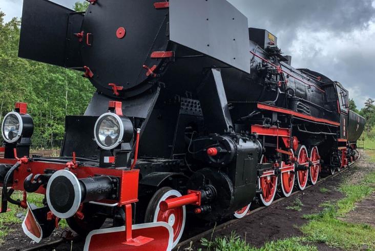 Odnowiony Ty2-22 stanie w Lubinie w październiku [zdjęcia]