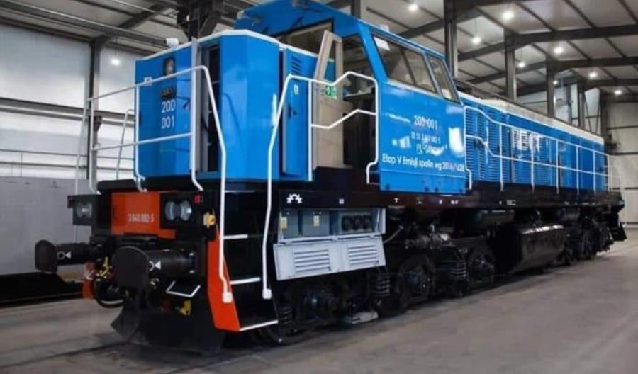 Tabor Dębica zaprezentował lokomotywę 20D