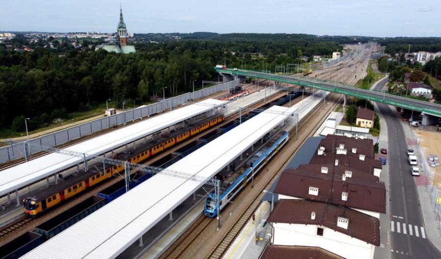 Koniec prac na stacji Trzebinia [zdjęcia]