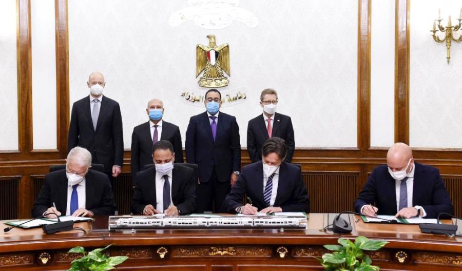 Siemens zbuduje cały system kolejowy w Egipcie za 3 miliardy dolarów