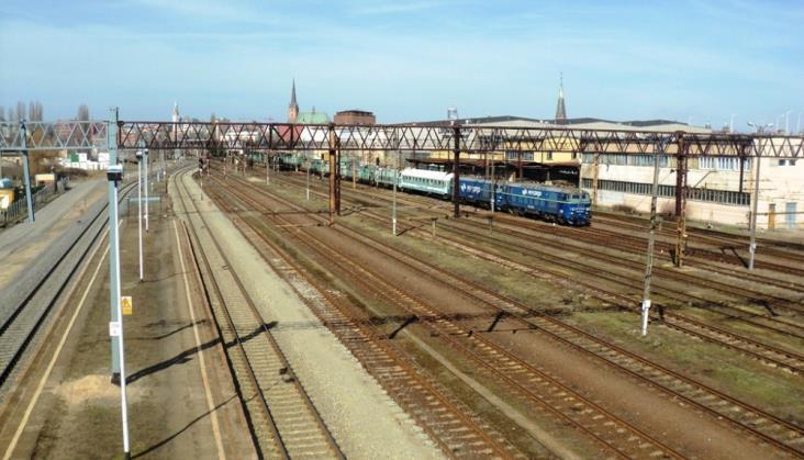 Objazdy pociągów w Szczecinie