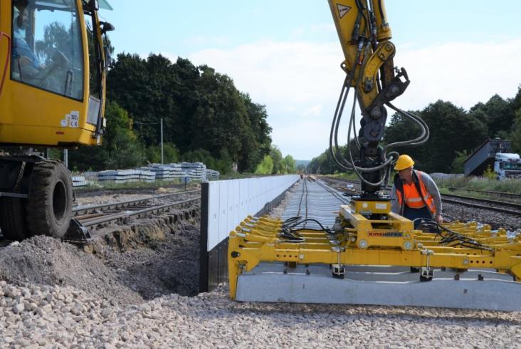 Trwają przygotowania do powrotu pociągów ze Skarżyska do Tomaszowa Maz.