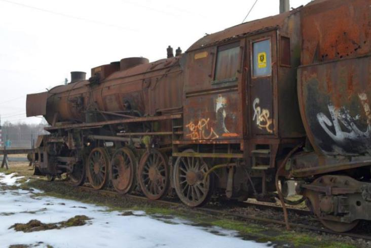 Piastów kupił parowóz Ty2-220 z Tłuszcza. Stanie jako pomnik przy stacji