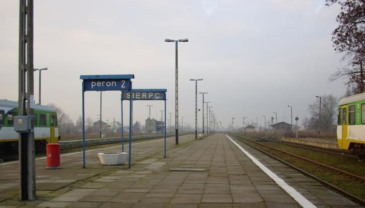 Kujawsko-pomorskie zapowiada wznowienie ruchu do Sierpca