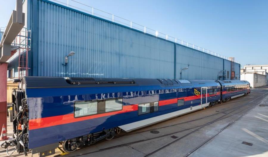 Pierwsze wagony Nightjet nowej generacji wyruszyły na testy [nowe zdjęcia]