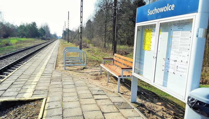 Powstaną dwa nowe perony na linii kolejowej Białystok - Czeremcha
