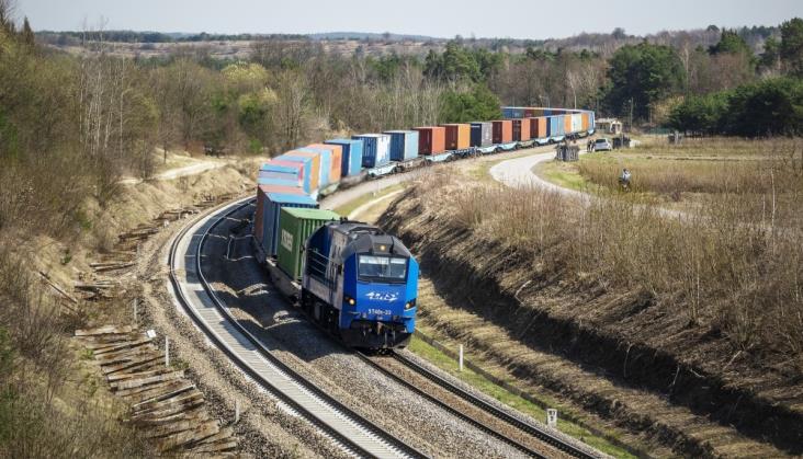 PKP LHS: Rosną przewozy intermodalne z Chin