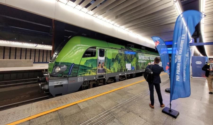 Transeuropejski pociąg CEE dojechał na Trako [nowe zdjęcia] [film]