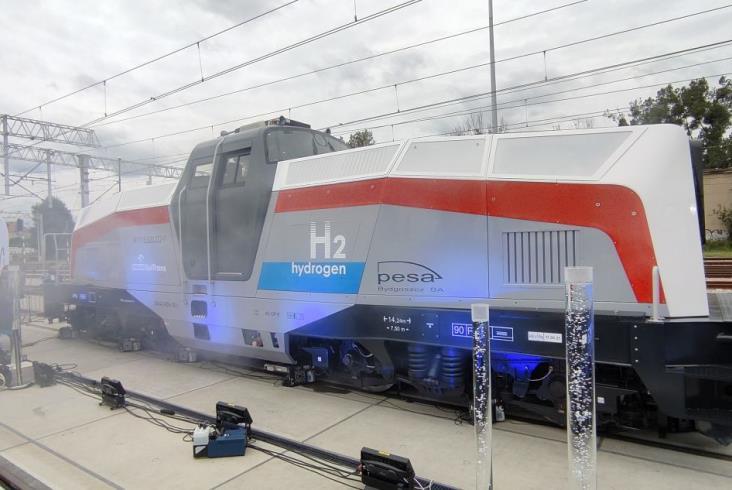 Tak wygląda lokomotywa wodorowa Pesy!