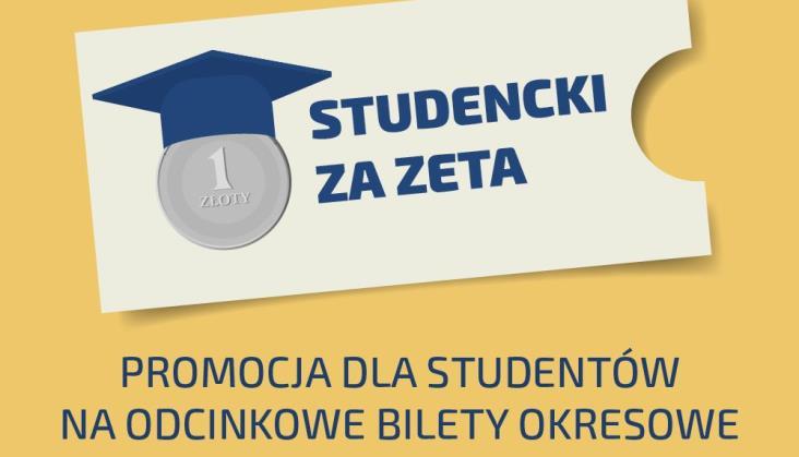 Polregio i ŁKA dla studentów. Cały miesiąc za złotówkę