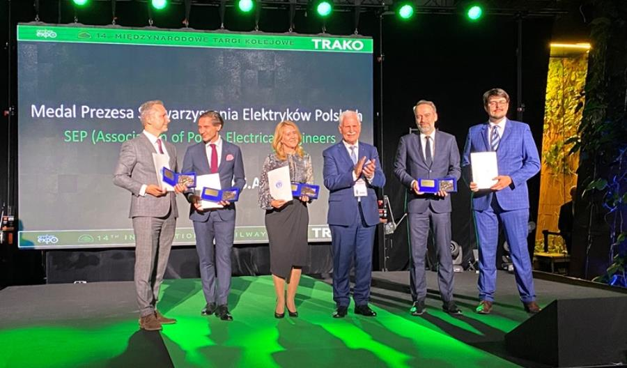 PKP Energetyka nagrodzona na Trako
