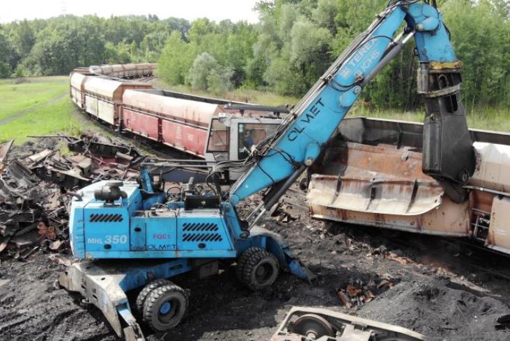 Olmet: Złomujemy 70% taboru kasowanego w Polsce