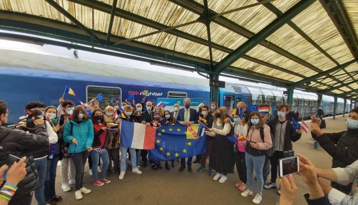 Po pokonaniu 20000 km transeuropejski ekspres zakończył podróż