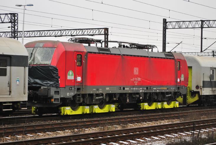 Vectron DB opuścił Polskę w nietypowy sposób