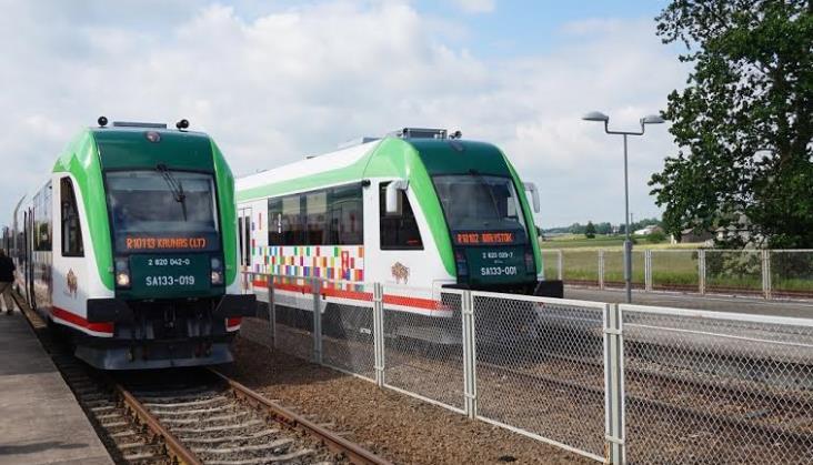 Pociągi Regio kursują na Litwę [relacja]