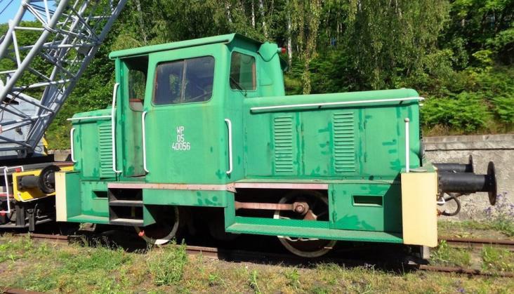 Agencja Mienia Wojskowego wyprzedaje sprzęt, w tym… lokomotywę