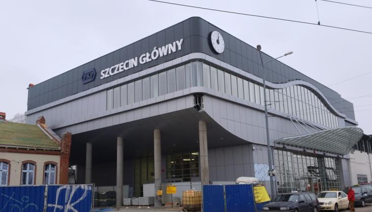 Szczecin Główny dopiero na przełomie marca i kwietnia